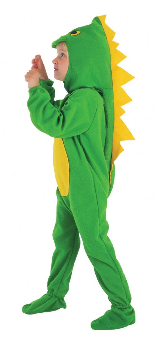 Childs Dinosaur Toddler Costume Prehistoric Jurassic Animal Fancy Dress Outfit